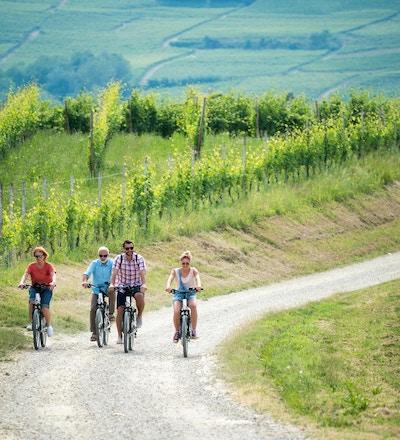 Sykkeltur i Piemonte, Italia.