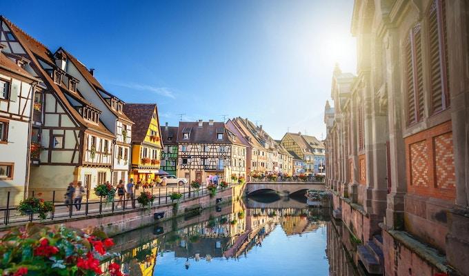Den franske byen Strasbourg