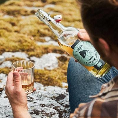 Lokale drikkevarer fra Aga Sideri
