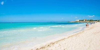 Colonia sant jordi es trenc beach