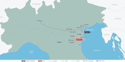Kart Italia Milano Venezia Uniworld