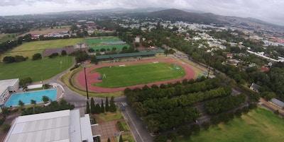Coetzenburg stadium aerial