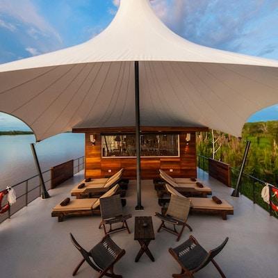 Uniworld Aria Amazone lounge på dekke