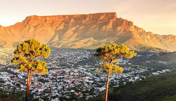 Cape Town i Sør-Afrika.