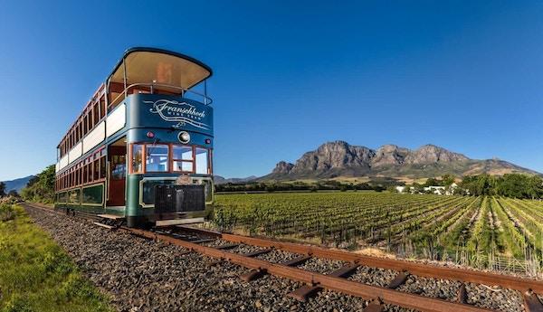 Vintrikken i Franschhoek, Sør-Afrika.