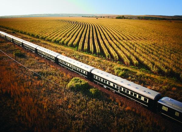 Luftfoto, Rovos Rail i Sør-Afrika