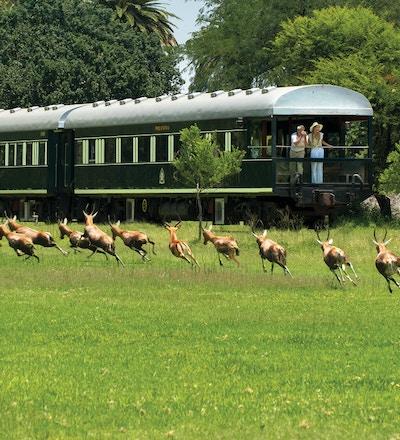 Rovos Rail i Sør Afrika.