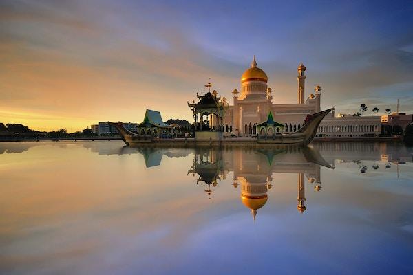 Istana Nurul Iman i Brunei.