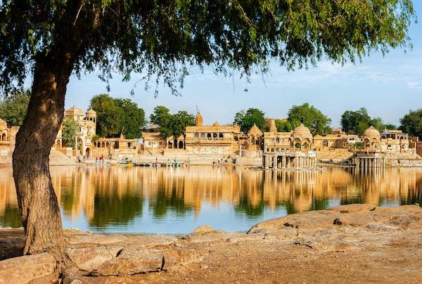 Jaisalmer i India.