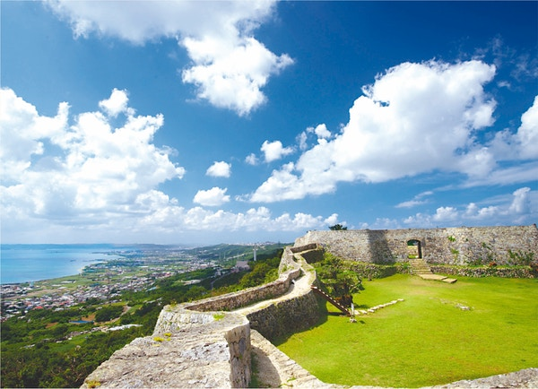 Nakagusuku Castle i Okinawa.