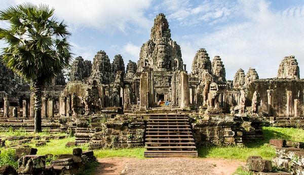 Ta Prohm-templet i Kambodsja.