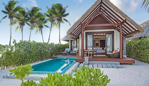 Aarah pool beach villa, Maldivene.