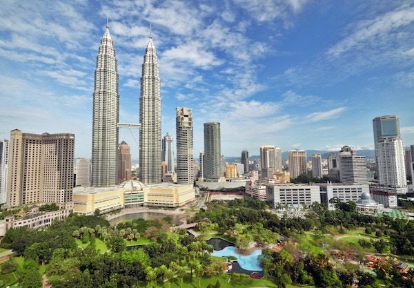 Petronas Twin Towers i Kuala Lumpur, Malaysia.