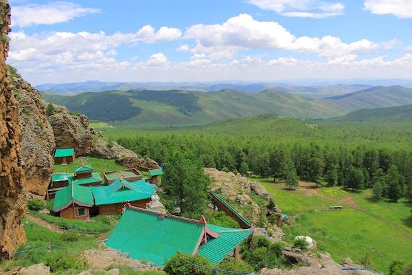 Tuvkhun-klosteret i Mongolia