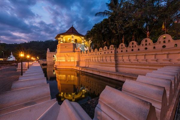 Sri lanka Kandy Sacred tooth