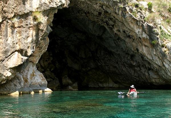 Grotte i Albania.
