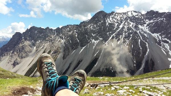 Utsikt over alpene.