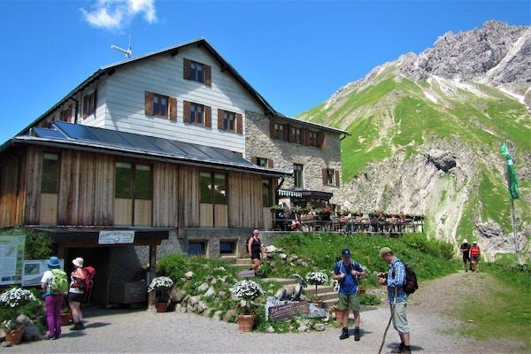 Restaurant i alpene.