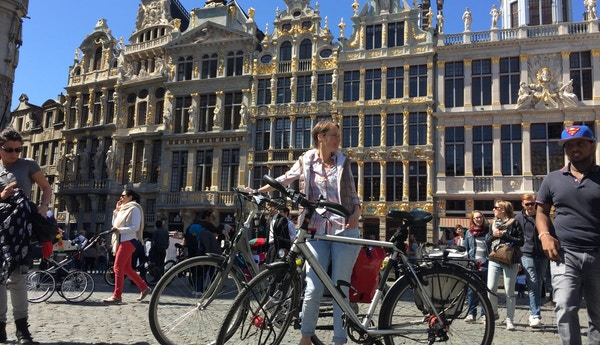 Sykkeltur i Flandern.