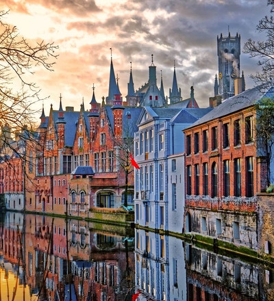 Gamlebyen i Brugge-