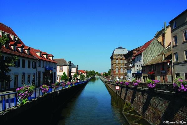 Saverne i Alsace.