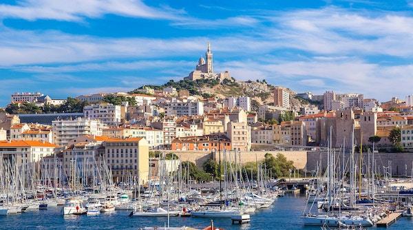 Marseille i Frankrike.