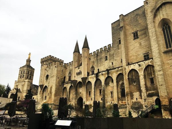 Pavepalasset i Avignon, Frankrike.