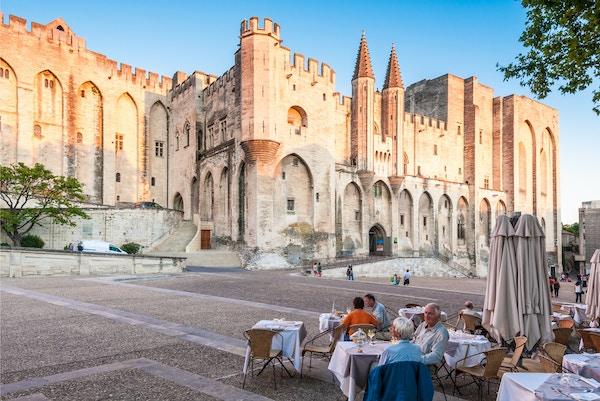 Pavepalasset i Avignon.