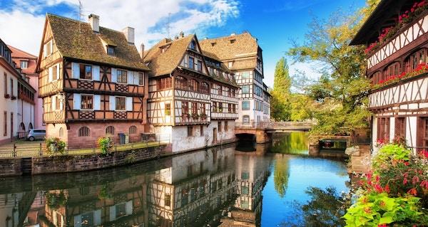 Gamlebyen i Strasbourg.