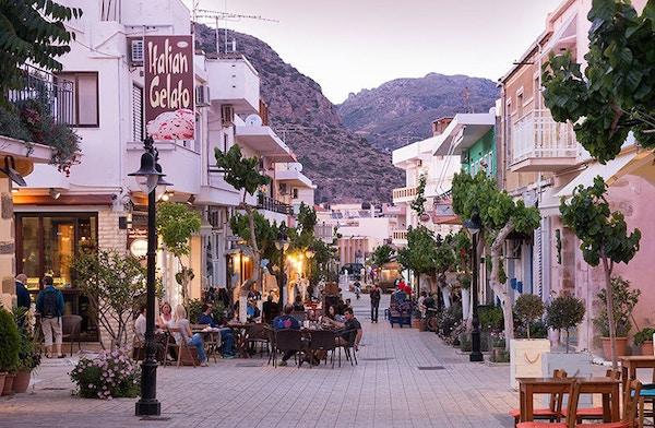 Paloechora på Kreta.