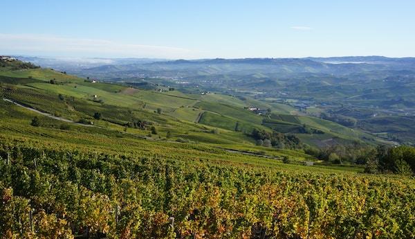 Fottur i Piemonte.