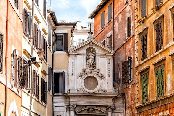 Santa Barbara dei Librai, «bokfolkenes kirke» i Roma.
