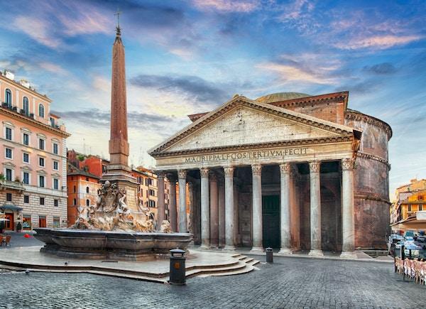 Pantheon, et av Romas mest kjente byggverk.