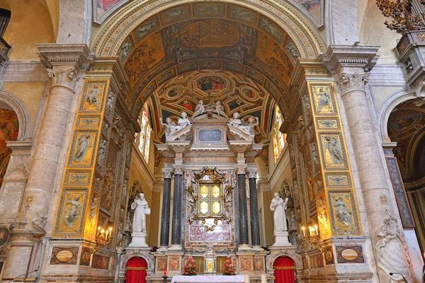 Santa Maria del Popolo-kirken.