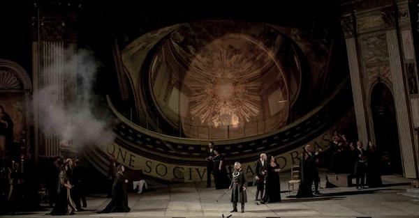 Verk av Puccini spilles i opera i Italia.