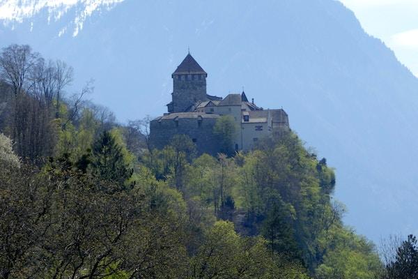 Liechtenstein Vaduz slott