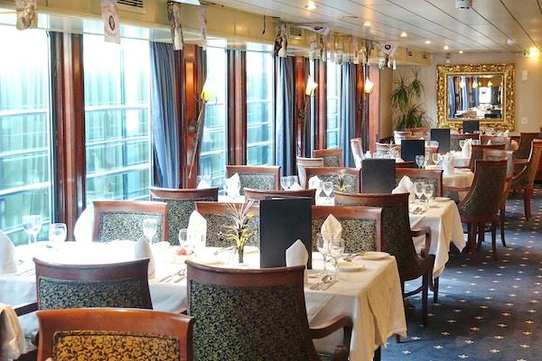 Restaurant på Cruiseskip.