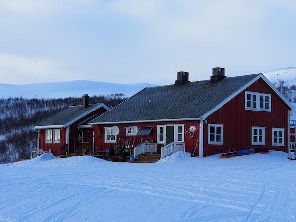 Jotka Fjellstue på Finnmarksvidda.