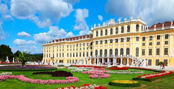 Slott i Wien.