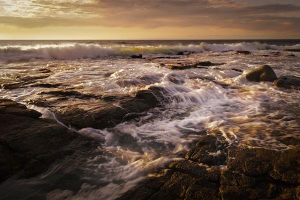 Havet utenfor Galicia i Spania.