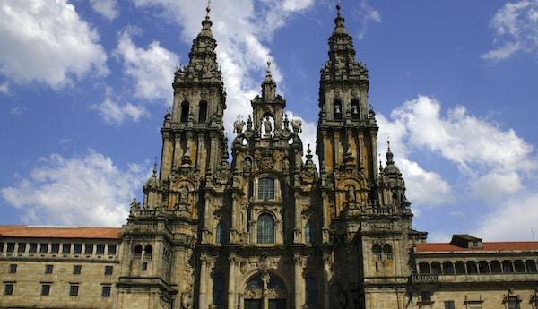 Katedralen i Santiago de Compostela, Spania.