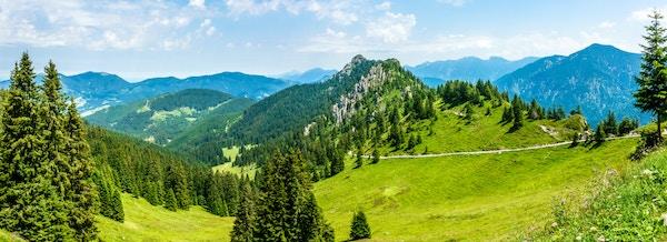 Landskap i alpene.