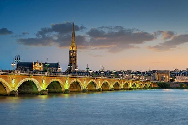 Frankrike Bordeaux by
