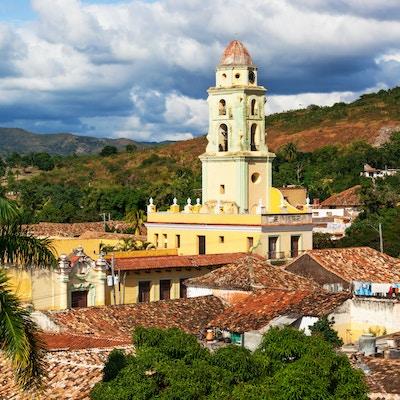 Kirke i by i Trinidad.