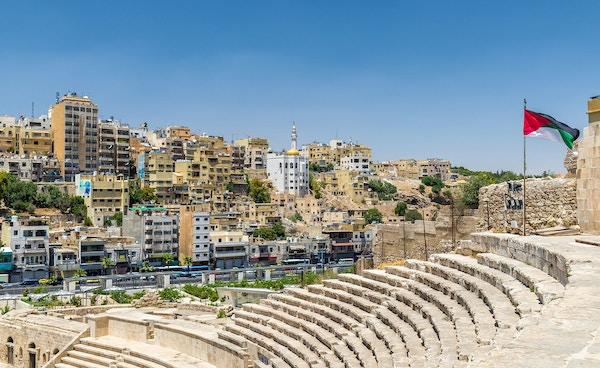 Amfi i Amman i Jordan.