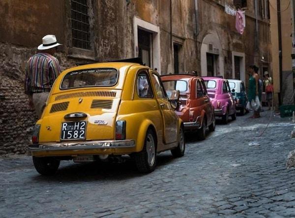 Mini biler Italia