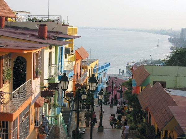 Guayaquil i Ecuador.