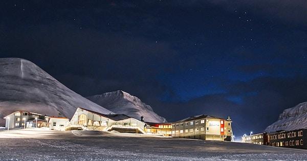 Svalbard overnatting
