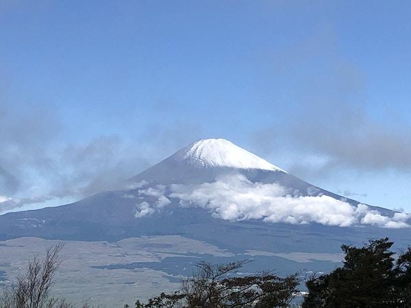 Fuji-fjellet i Japan