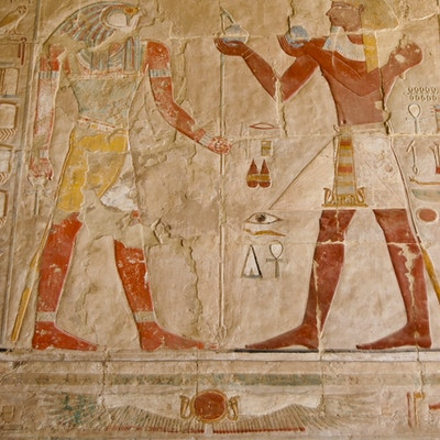 hieroglyfer Egypt